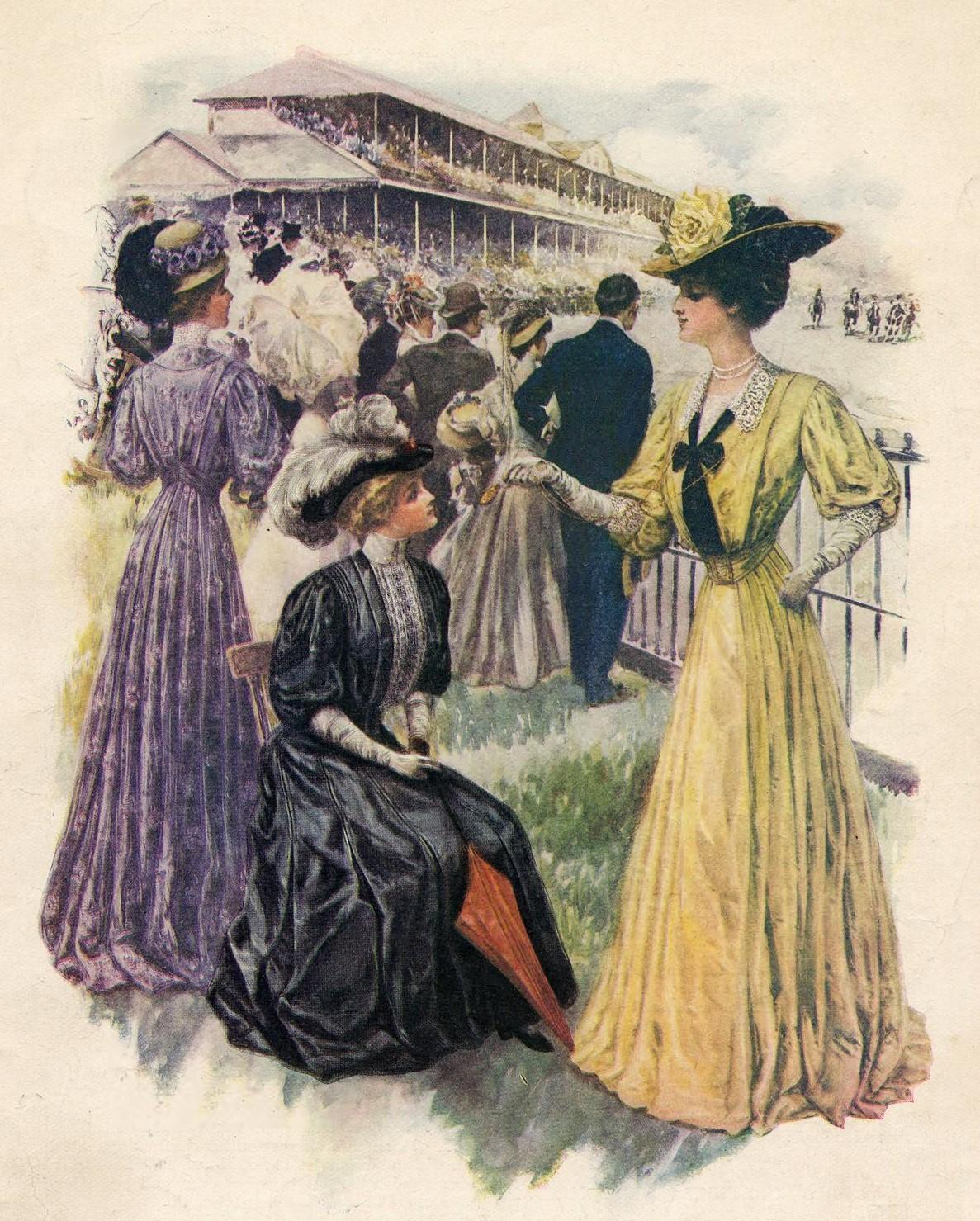American fashions Summer 1907