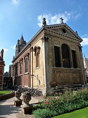 Cambridge - Pembroke College Chapel