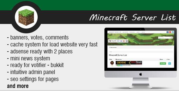 Minecraft Server List v1.4