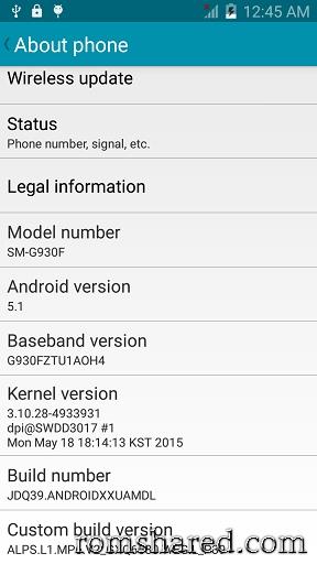 Chia sẻ - Rom Samsung S7 G930F MT6580 U1652HB   Diễn Đàn
