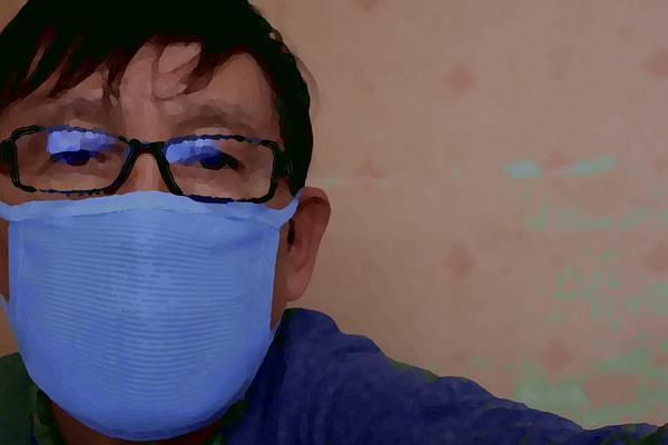 Masked guy