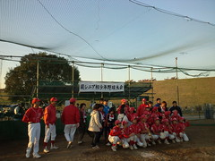 蕨シニア杯少年野球大会は、蕨イーグルスが優勝しました。