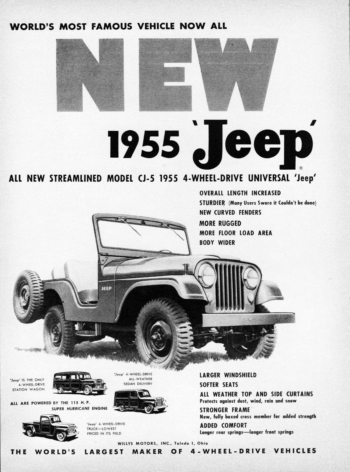 1955 Jeep Cj5 Suspension Diagram