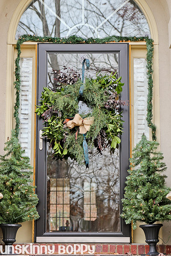 DIY Evergreen Christmas wreaths (13 of 16)