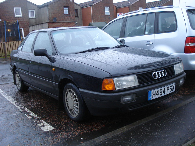 1991 Audi 80 1 6 Turbo Diesel Flickr Photo Sharing