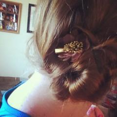 ear(0.0), hairstyle(1.0), chignon(1.0), brown(1.0), clothing(1.0), bun(1.0), hair(1.0), brown hair(1.0),