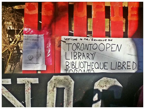 Occupy Toronto - Library