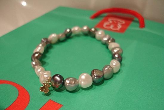 pulsera-perlas-grises-Tous