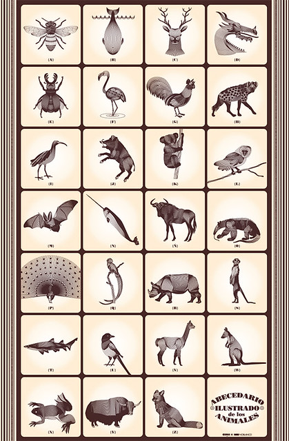 abecedario ilustrado de los animales | Flickr - Photo Sharing!