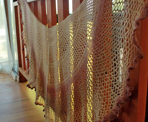 Whispering Comfort Shawl by Grace Yaskovic