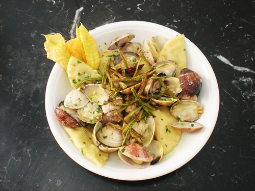 ravioli di zucchine di Mariella di Meglio