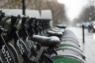 Bixi in the Snow