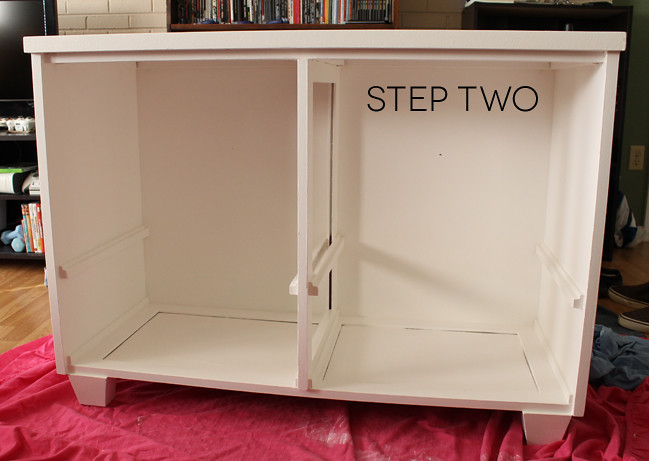 dresserdiy_step two