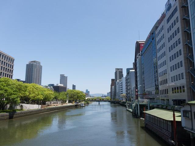淀屋橋からの景色