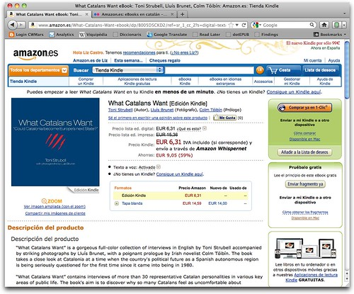 What Catalans Want eBook: Toni Strubell, Lluís Brunet, Colm Tóibín: Amazon.es: Tienda Kindle