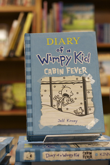 Jeff Kinney, Diary of a Wimpy Kid: Cabin Fever