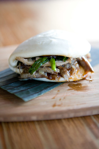duck bao on white by TAKE A BAO