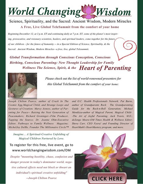 Word Changing Wisdom - TeleSummit : Conscious Parenting
