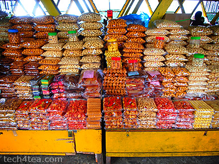 Dried & fresh fruit market. Taken with Olympus PEN E-P3 with 12mm lens and Pop Art effect.