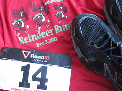Reindeer Run, 12/3/11, Queensbury NY