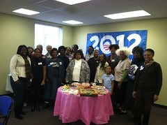120111 Women for Obama phone bank2