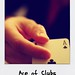 Small photo of Ace of clubs