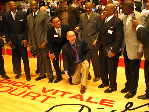 Dick Vitale Court at Calihan Hall - Basketball Playing Tips