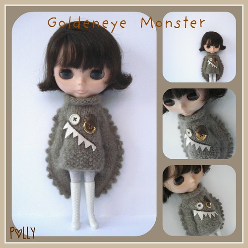 Goldeneye Monster sweater