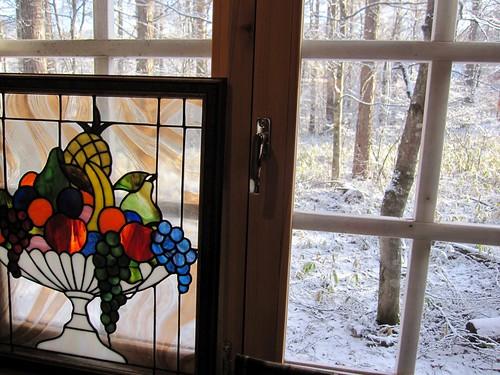 離れから見た雪景色 2011.12.7 by Poran111