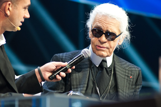 _Karl Lagerfeld Plenary I @ Le Web 11 Les Docks-6544