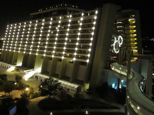 11.26.11 - Contemporary Resort and Bay Lake Tower