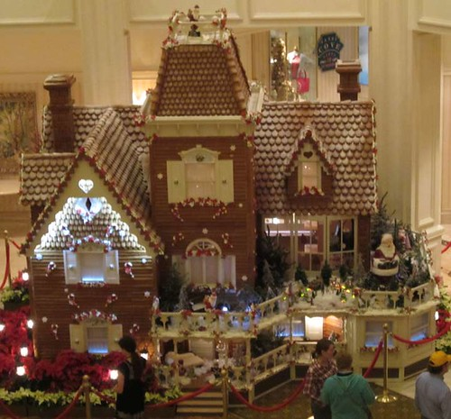 11.28.11 - The Grand Floridian Giant Gingerbread House