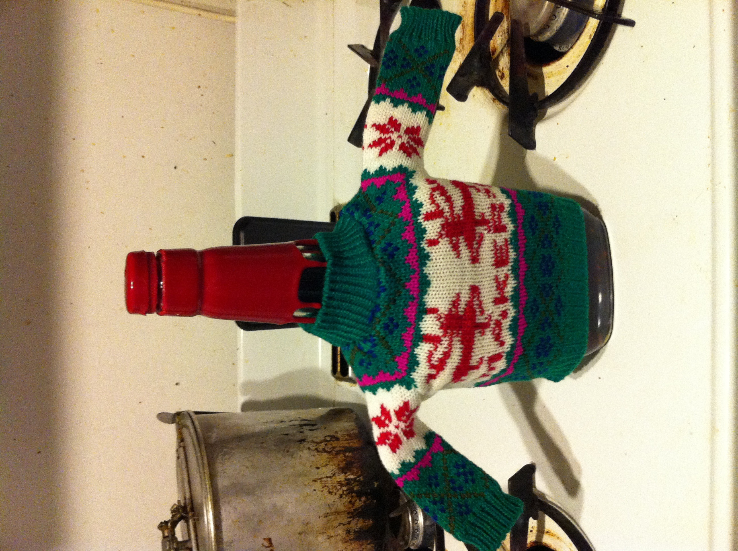Maker's Mark bottle sweater | Flickr - Photo Sharing!