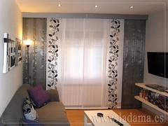 Exif decoraci n para salones modernos cortinas paneles japoneses estores enrollables - Estores y paneles japoneses ...