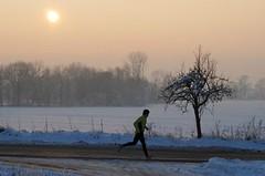 Trénink v prosinci s výhledem na jarní závod