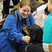 Puppies visit MSMC