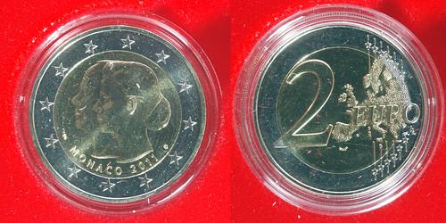 2 Euros Mónaco 2011
