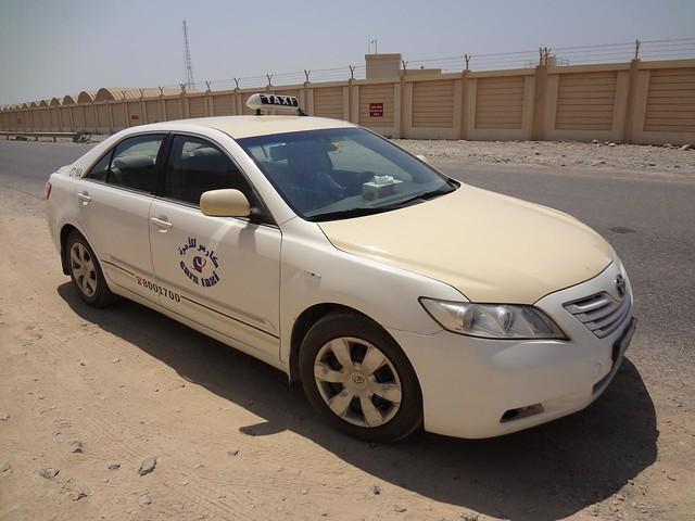 Taxi Ras Al Khaimah EAU ate fronteira com Ras Musandam Omã