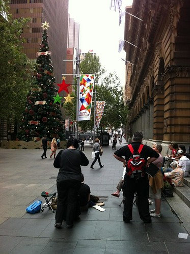 Martin Place sketchers