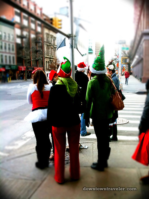 SantaCon NY 2011 East Village 3rd Ave