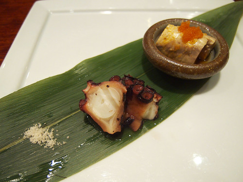 15 East - Slow Poached Octopus, Ankimo (Monkfish Liver)