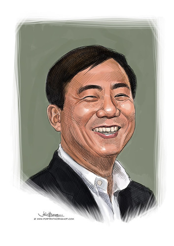 digital portrait of Stanley Tan