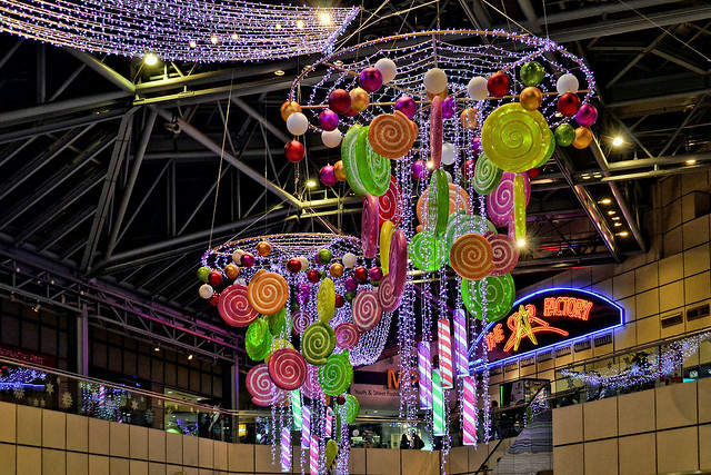 Christmas tree at Suntec City Mall, Singapore