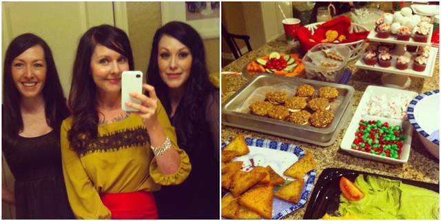 Girls' Xmas Party Instagrams