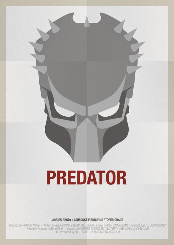 Máscaras e seus filmes , Predador