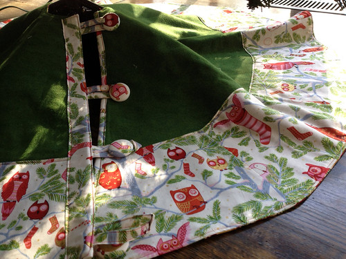Owl Tree Skirt