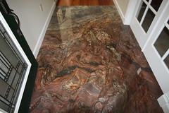Slab Granite Entryway