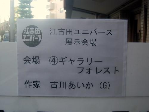展示会場@ギャラリーフォレスト(新江古田)