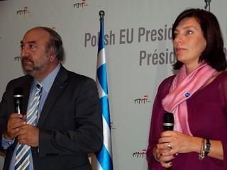 George Nikitiades i Katarzyna Sobierajska