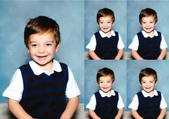 Avi's First (Pre-)School Photo